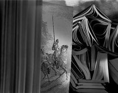 Abelardo Morell - Don Quixote, 2005 Happy Photography, Artistic Photography, Inspiring Photography, White Photography, Invert Image, Precious Book, Museum Art Gallery, Master Of Fine Arts, Paper Light