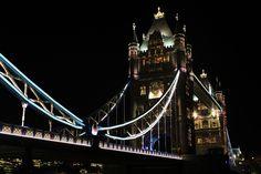 London Bridge at night de Face-de-lutin