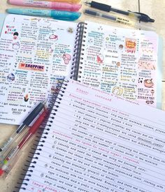 """18.7k Likes, 161 Comments - sarah (@studeying) on Instagram: """"Chemistry notes + dodgy jan overview where I write and stick random stuff lol"""""""