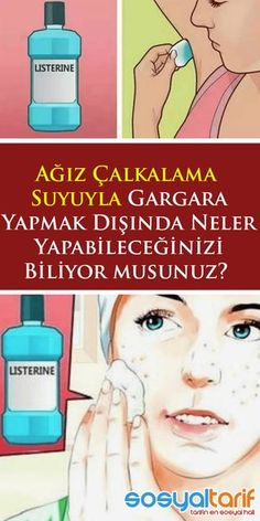 Skin care acne Skin care acne - Pratik Hızlı ve Kolay Yemek Tarifleri Herbal Remedies, Natural Remedies, Facial Cleansers, Skin Mask, Homemade Skin Care, Listerine, Acne Skin, Face Care, Healthy Skin