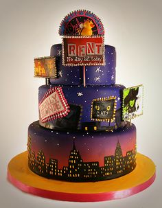 Broadway Cake Ace of Cakes