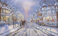 Il mondo di Mary Antony: Robert Finale - Scene natalizie