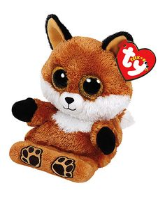 Lend a whimsical touch to playtime with this sweet Beanie Boo plush showcasing a darling wide-eyed design.