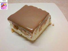 Εκλερ cake !!! Θεικό !! ~ ΜΑΓΕΙΡΙΚΗ ΚΑΙ ΣΥΝΤΑΓΕΣ Greek Sweets, Greek Desserts, Party Desserts, Summer Desserts, Cake Mix Cookie Recipes, Cake Recipes, Sweets Cake, Cupcake Cakes, Cupcakes