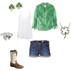 St. Patty's Day- I have a feeling it would be jeans worn around here although you never know in KY!