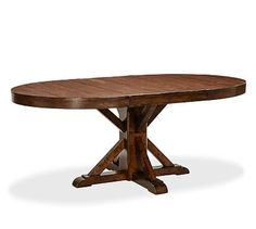 Benchwright Extending Pedestal Dining Table.#potterybarn. My next table.