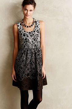 Fading Tracery Dress