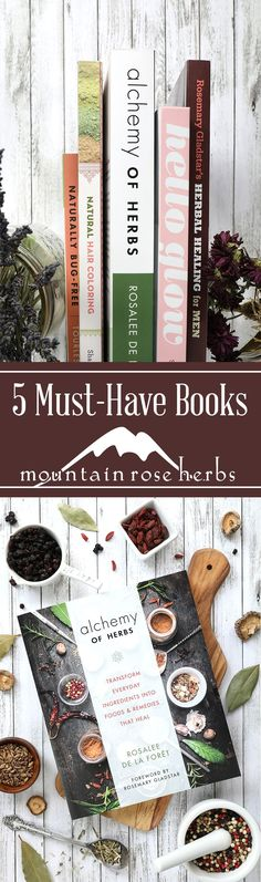5 of Our Favorite New Botanical Reference Books | Mountain Rose Herbs Blog