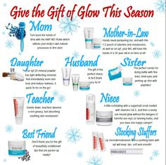 Rodan and Fields has great Christmas Gifts for everyone!