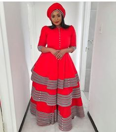 """Traditional African Weddings on Instagram: """"Get in touch with @sibonextlevelfashion for bespoke garments. . . To order contact Whatsup 0782632904…"""" Xhosa Attire, Traditional African Clothing, African Lace Dresses, African Fashion, Fashion Dresses, My Style, How To Wear, Outfits, Clothes"""