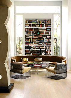 John Oetgen's and John Lineweaver's living room in Atlanta. What a fab room.    via @Frances Schultz