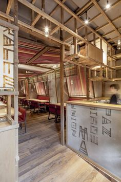 Dezeen - Patka restaurant by El Equipo Creativo Deco Restaurant, Restaurant Interior Design, Cafe Interior, Design Hotel, Interior Ideas, Design Café, Cafe Design, Store Design, House Design