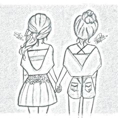 best friends - coloring page   malvorlagen für mädchen