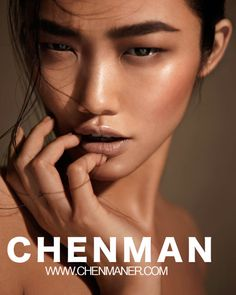 "Love how this excentuates her eyes and really makes her look kind of ""non-human"" . Perfect for website shots or even day look Makeup Artist: Pat McGrath Chen, Pat Mcgrath Makeup, Beauty Makeup, Hair Makeup, Runway Makeup, Clean Makeup, Minimal Makeup, Model Face, Beauty Shoot"