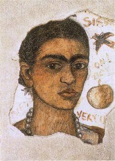 Self- Portrait Very Ugly, 1933  Frida Kahlo