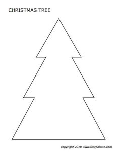 Christmas Tree Templates In All Shapes and Sizes: Christmas Tree Templates at FirstPalette Free Christmas tree templates you can print out and decorate for craft projects. These Christmas tree templates come in different sizes and shapes. Christmas Tree Cut Out, Christmas Tree Printable, Christmas Tree Coloring Page, Christmas Tree Template, Christmas Tree Pattern, Christmas Crafts For Kids, Christmas Diy, Rustic Christmas, Xmas