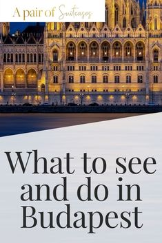 Find out what to see, do and eat in the beautiful city of Budapest, Hungary. Europe Travel Guide, Travel Guides, International Travel Checklist, Capital Of Hungary, Budapest Travel, Hungary Travel, Most Beautiful Cities, Central Europe, Budapest Hungary