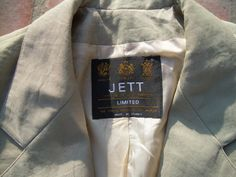 VINTAGE FRENCH Cropped  Steam punk  jacket military by csclothes