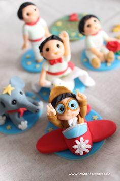 Fondant Doll Cake Topper by mimicafe Union