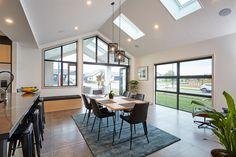 Dining Room Inspiration | Feature Wall | Dream Living Space Dining Room Inspiration, Living Spaces, Layout, Homes, Interior Design, Wall, Furniture, Home Decor, Nest Design