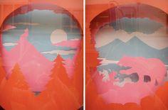 Papercut Dioramas