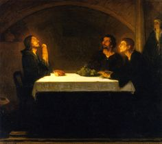 The Athenaeum - The Pilgrims of Emmaus (Henry Ossawa Tanner - )