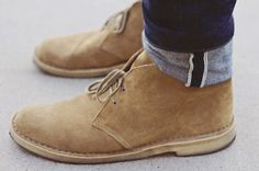 Desert boots are a staple in every guy's wardrobe.