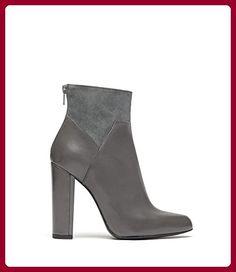 UNISA HIGH HEEL STIEFEL ETTE ankle Boots echt Wild Leder