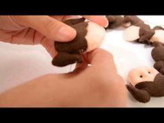 ▶ Como colocar os olhos (miçangas) em sua peça artesanal - YouTube