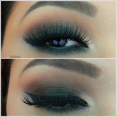 Love this! Glamour Doll Eye Makeup: Smokey Eyes Green Pictorial