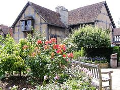 Shakespeare's house, Stratford-upon-Avon, England