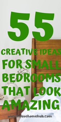 You still have options with your small bedroom. Get creative and have fun decorating. Small bedrooms can look amzing, be cozy and have storage. Small Bedroom Storage, Small Master Bedroom, Small Bedrooms, Cozy Bedroom, Modern Bedroom Decor, Bedroom Furniture, Small Bedroom Inspiration, Aesthetic Room Decor, Small Shelves
