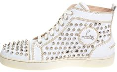Louboutin studded Louis sneakers