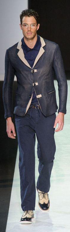 by Giorgio Armani. Fresh fashion inspiration daily, follow http://pinterest.com/pmartinza