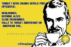 Things I Wish Obama Would Find Offensive....