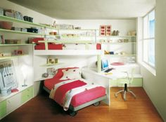 unique childrens rooms | kids room children furniture design 101 40 Fantasy Kids Room ...