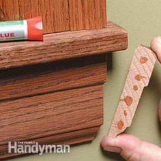 These DIY tips will help you get tight-fitting joints on doors, windows and base moldings, even if your walls are less than perfect. We'll show you how to adjust your cuts so the trim fits together on out-of-square corners and wavy walls. Get out your miter saw and follow these steps, and you'll end up with professional looking trim every time.