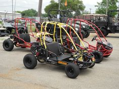 Another new batch of American SportWorks Black Widow and Marauder go karts assembled and ready for sale at our store. Stop by and take a test drive. Or see more at: http://www.powerequipmentsolutions.com/products-a-services/online-store/go-karts.html  #gokarts #AmericanSportWorks #BlackWidow #Marauder #fun #offroad #forsale #PES #Vandalia