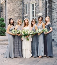 Love these bridesmaids dresses SO much!! Brett Heidebrecht Photography
