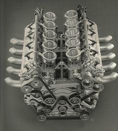 SPEED: Alfa Romeo 3.5 V10 engine, 1988 Alfa Romeo Tipo 33...