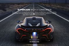 Modern Supercar Hybrid Technology - Gear Patrol SENTIENT SPEED: THE DAWNING OF SUPERCARS WITH A CONSCIENCE THE ARRIVALS ISSUE VEHICLES : CARS By AMOS KWON on 3.24.14