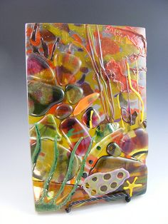 Under the Sea Fused Glass