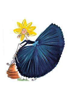 it must b spring!  la fleur de chanel #fashionfollies