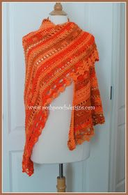 Posh Pooch Designs Dog Clothes: Blessings Ombre Shawl New Crochet Pattern Release | Posh Pooch Designs