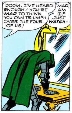 Fantastic Four #10 (January 1963) Art by Jack Kirby & Dick Ayers  Words by Stan Lee
