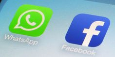 Loading WhatsApp and Facebook. Photo / AP