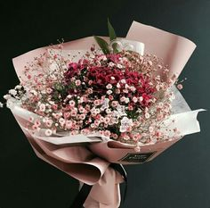 Flowers, tulip, flora , rose ,boquet on We Heart It Bunch Of Flowers, Little Flowers, My Flower, Beautiful Bouquet Of Flowers, Beautiful Flowers, Wedding Flowers, Rose Boquet, Pink Flower Bouquet, No Rain