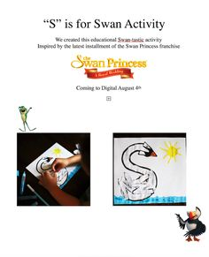 The Swan Princess: A Royal Wedding Printables and Activities