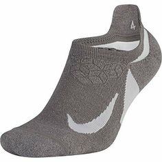 Nike Running No- Show Socks - (M) with strategically placed cushioning, NIKE Unisex Spark Cushioned No-Show Running Socks offer exceptional impact absorption mile after mile, while NIKE Dry fabric and mesh vents help keep feet dry and Wash/Dry Running Socks, Running Pants, Nike Running, Running Women, Running Clothing, Indian Clubs, Basketball Socks, Black Cushions, Calf Socks