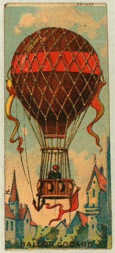 Ballon Godard 1860-1900.